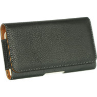 *SALE* Premium Leather Magnetic Holster Hip Pouch Case - Black