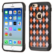 Tough Anti-Shock Hybrid Case for iPhone 6 / 6S - Classic Argyle