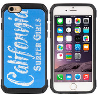 Tough Anti-Shock Hybrid Case for iPhone 6 / 6S - California Surfer Girls