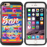Tough Anti-Shock Hybrid Case for iPhone 6 / 6S - San Francisco 89