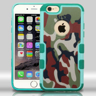 Military Grade Certified TUFF Merge Graphic Hybrid Case for iPhone 6 Plus / 6S Plus - Camouflage
