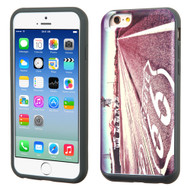 Slidable Card Wallet Hybrid Case for iPhone 6 / 6S - Route 66