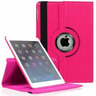 *FINAL SALE* 360 Degree Smart Rotating Leather Case for iPad Mini 4 - Hot Pink