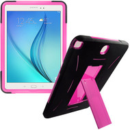 Explorer Impact Armor Kickstand Hybrid Case for Samsung Galaxy Tab A 9.7 - Black Hot Pink