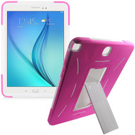 Explorer Impact Armor Kickstand Hybrid Case for Samsung Galaxy Tab A 9.7 - Hot Pink White