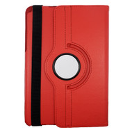 Rotating Leather Hybrid Case for Samsung Galaxy Tab A 9.7 - Red