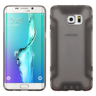 Easy Grip Candy Skin Cover for Samsung Galaxy S6 Edge Plus - Smoke