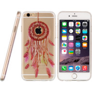 Graphic Rubberized Protective Gel Case for iPhone 6 / 6S - Dream Catcher