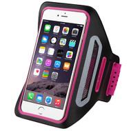 Multi-Functional Sport Neoprene Armband - Hot Pink