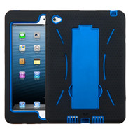 Explorer Impact Hybrid Armor Kickstand Case for iPad Mini 4 - Black Blue