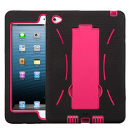 Explorer Impact Hybrid Armor Kickstand Case for iPad Mini 4 - Black Hot Pink