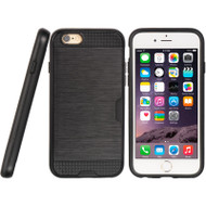 *SALE* Card To Go Hybrid Case for iPhone 6 Plus / 6S Plus - Black