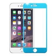 *SALE* Premium Round Edge Tempered Glass Screen Protector for iPhone 6 Plus / 6S Plus - Blue