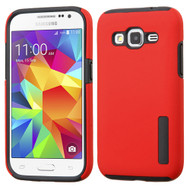 Pro Shield Hybrid Armor Case for Samsung Galaxy Core Prime / Prevail LTE - Red