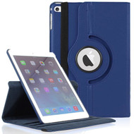 *FINAL SALE* 360 Degree Smart Rotating Leather Case for iPad Mini 4 - Navy Blue