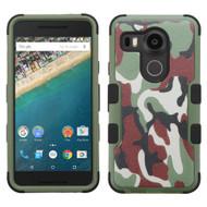 *Sale* Military Grade TUFF Image Hybrid Case for LG Google Nexus 5X - Camouflage