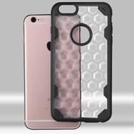Challenger Honeycomb Hybrid Case for iPhone 6 Plus / 6S Plus - Black
