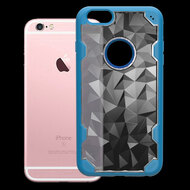 Challenger Polygon Hybrid Case for iPhone 6 Plus / 6S Plus - Blue