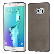 Sparkling Frost Candy Skin Cover for Samsung Galaxy S6 Edge Plus - Smoke