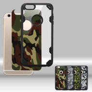 Challenger FreeStyle Hybrid Case with Designer Inserts for iPhone 6 Plus / 6S Plus - Camouflage