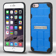 DefyR Hybrid Case with Stand for iPhone 6 Plus / 6S Plus - Square Blue