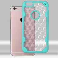 Challenger Honeycomb Hybrid Case for iPhone 6 / 6S - Teal