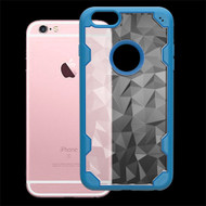Challenger Polygon Hybrid Case for iPhone 6 / 6S - Blue