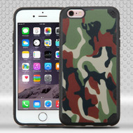 DefyR Graphic Hybrid Case for iPhone 6 Plus / 6S Plus - Camouflage