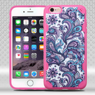 DefyR Graphic Hybrid Case for iPhone 6 Plus / 6S Plus - Persian Paisley