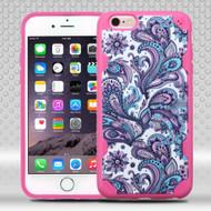 DefyR Graphic Hybrid Case for iPhone 6 Plus / 6S Plus - Persian Paisley