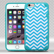 DefyR Graphic Hybrid Case for iPhone 6 Plus / 6S Plus - Blue Wave