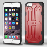 DefyR Hybrid Case for iPhone 6 Plus / 6S Plus - Red