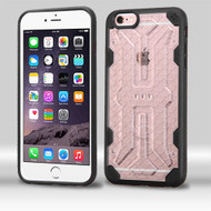 DefyR Hybrid Case for iPhone 6 Plus / 6S Plus - Clear Black