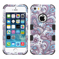 Military Grade Certified TUFF Image Hybrid Case for iPhone SE / 5S / 5 - Persian Paisley