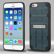 DefyR Hybrid Case with Stand for iPhone 6 / 6S - Square Slate