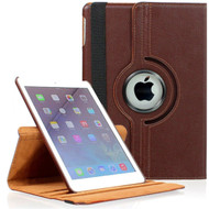 *SALE* 360 Degree Smart Rotating Leather Case for iPad Mini 4 - Brown