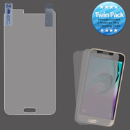 Crystal Clear Screen Protector for Samsung Galaxy Amp Prime / Express Prime / J3 / Sol - Twin Pack