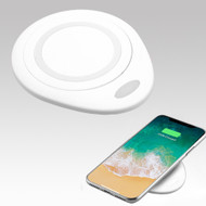 Wireless Charger Qi Inductive Charging Pad - White