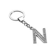 *Sale* Glamorous Alphabet Keychain - Letter N