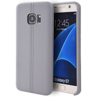 Slim Jacket TPU Case for Samsung Galaxy S7 - Grey