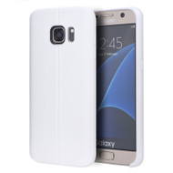 Slim Jacket TPU Case for Samsung Galaxy S7 - White