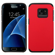 Hybrid Multi-Layer Armor Case for Samsung Galaxy S7 - Red