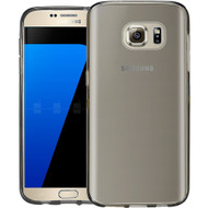 Rubberized Crystal Case for Samsung Galaxy S7 - Smoke