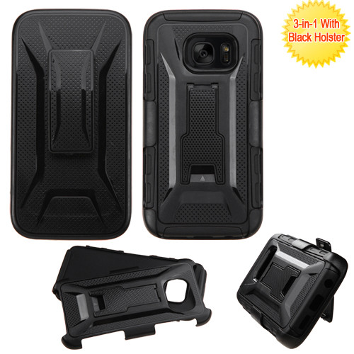 Tough Armor Hybrid Kickstand Case With Holster For Samsung