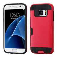 Card To Go Hybrid Case for Samsung Galaxy S7 - Red