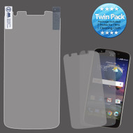 Crystal Clear Screen Protector for ZTE Grand X 3 / Warp 7 - Twin Pack