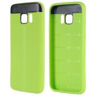 Anti-Slip Fusion TPU Case for Samsung Galaxy S7 - Green