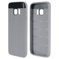 Anti-Slip Fusion TPU Case for Samsung Galaxy S7 - Grey