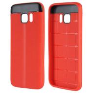 Anti-Slip Fusion TPU Case for Samsung Galaxy S7 - Red