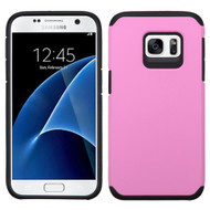 Hybrid Multi-Layer Armor Case for Samsung Galaxy S7 - Pink
